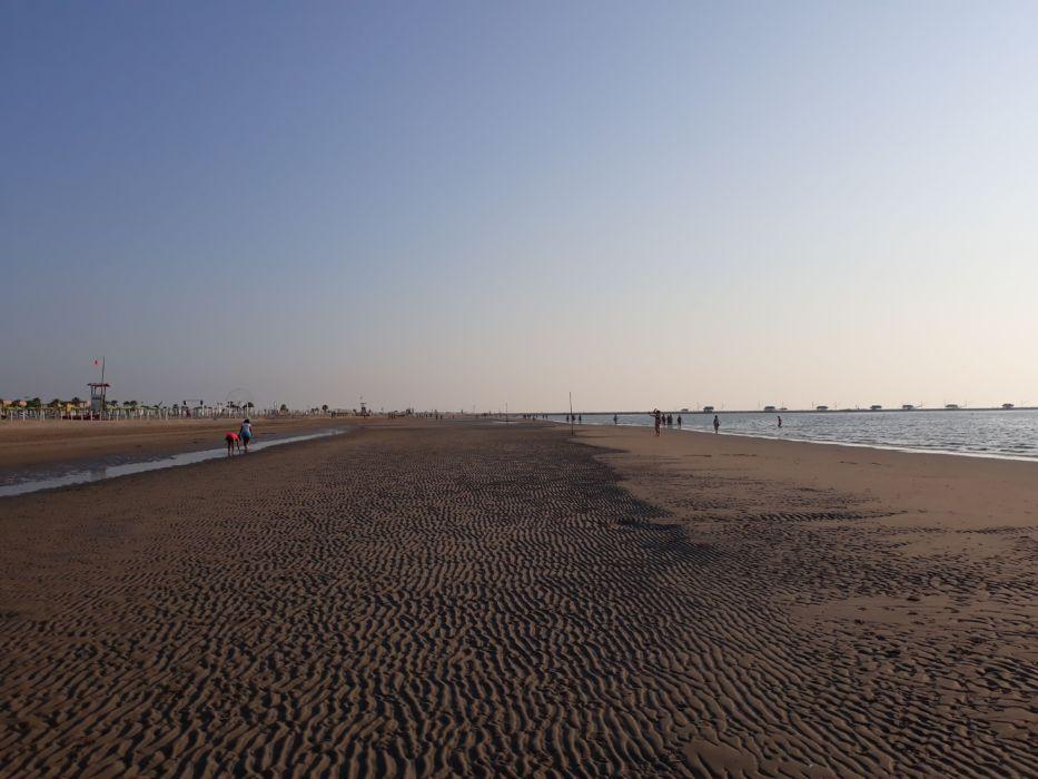La spiaggia di Sottomarina