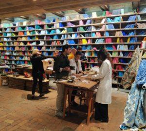 Fornace Orsoni, la Biblioteca dei colori