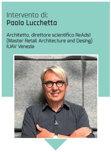L'architetto Paolo Lucchetta