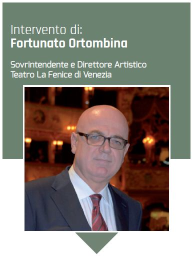 Il Sovrintendente e Direttore artistico del Teatro La Fenice di Venezia Fortunato Ortombina