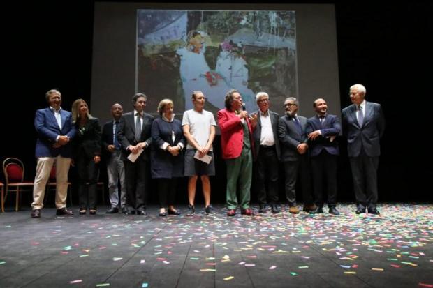 Concorso Premio Mestre Pittura - Philippe Daverio alla premiazione dell'edizione 2019