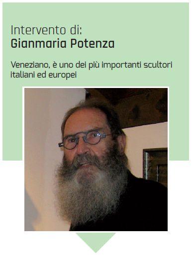 Lo scultore Gianmaria Potenza