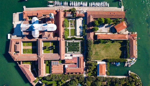 Fondazione Cini. isola di San Giorgio Maggiore, Venezia