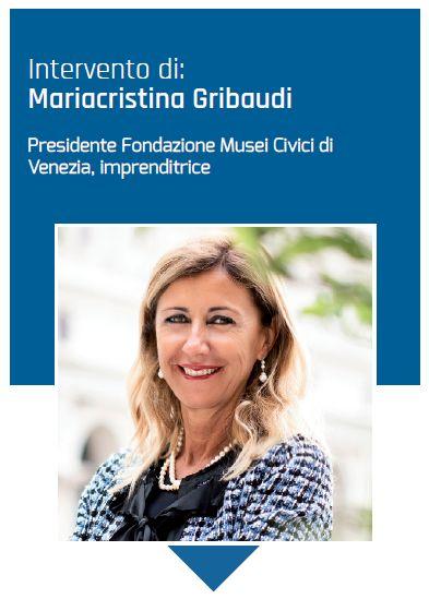 La presidente dei Musei Civici di Venezia Maria Cristina Gribaudi