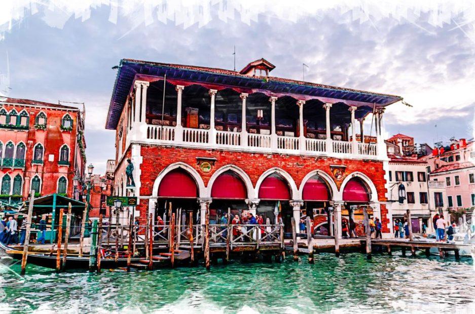 Venezia: Mercato di Rialto. Quando l'aggregazione è di talento
