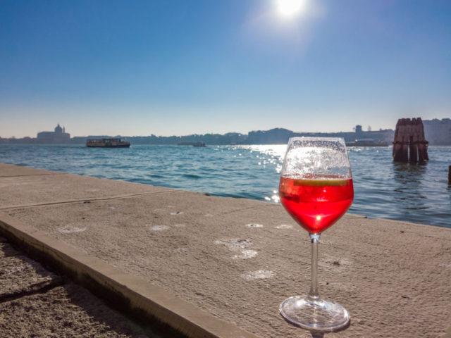 Lo spritz a Venezia