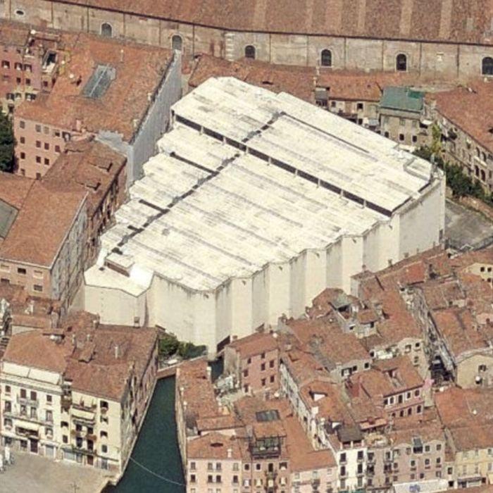 Il Palasport di Venezia Giobatta Gianquinto, a Castello