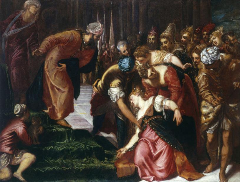 Ester incoronata da Assuero, Tintoretto