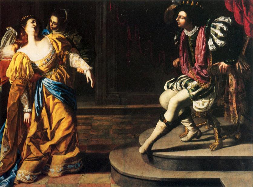Ester e Assuero, Artemisia Gentileschi
