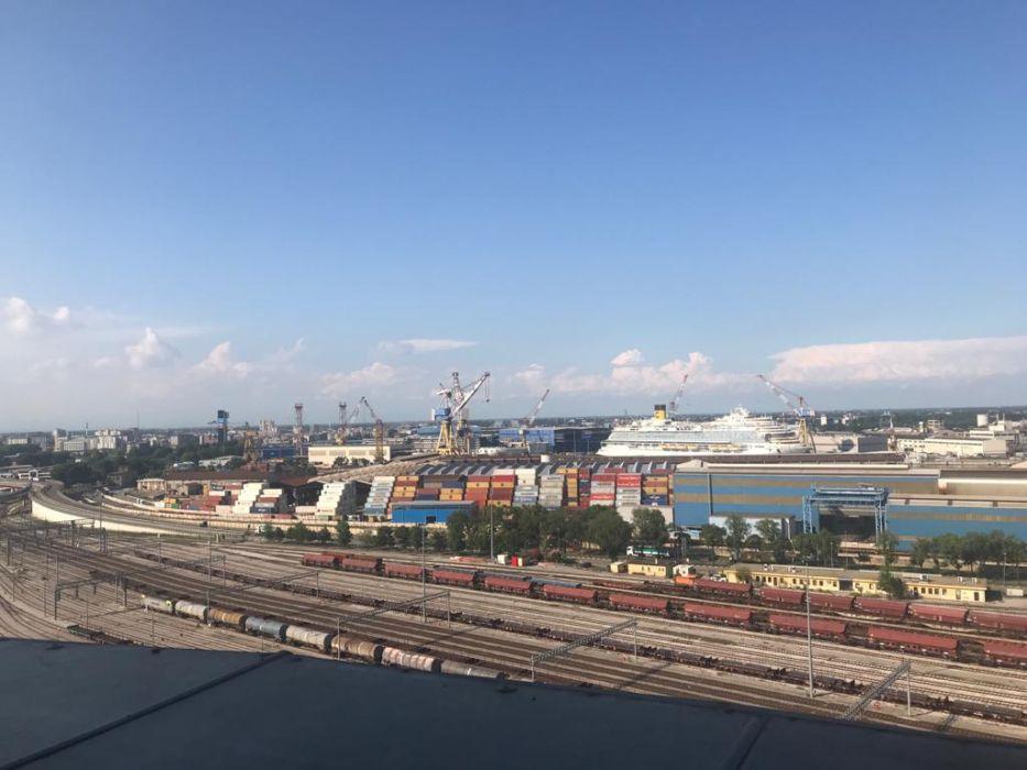 Area Fincantieri vista dall'ultimo piano della Venezia Heritage Tower