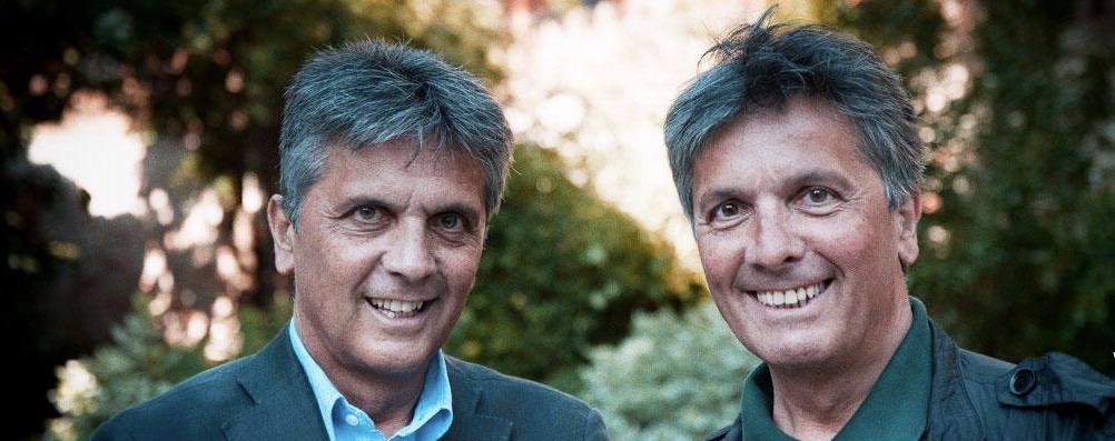 Da sx Giorgio e Maurizio Crovato