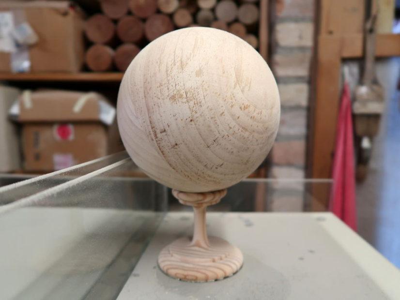 Palla in legno, Angelo Dalla Venezia