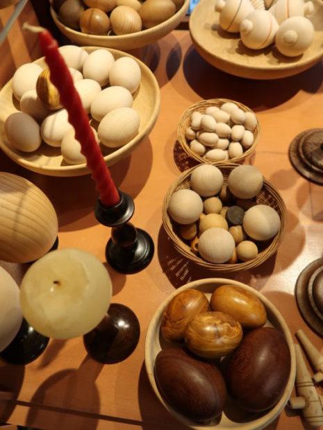 Gli oggetti realizzati da Angelo Dalla Venezia, ultimo tornitore