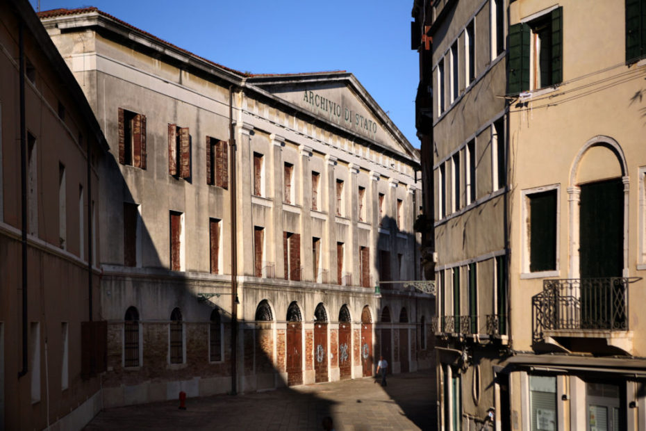 L'archivio di Stato di Venezia