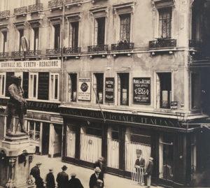La prima sede Pellegrini a Venezia