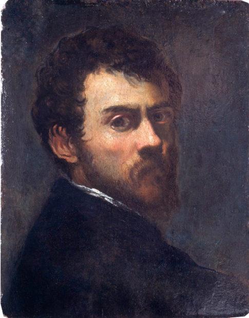 Tintoretto- autoritratto