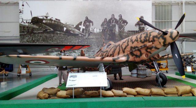 Macchi Veltro 205 - fonte Museo di Vigna di Valle