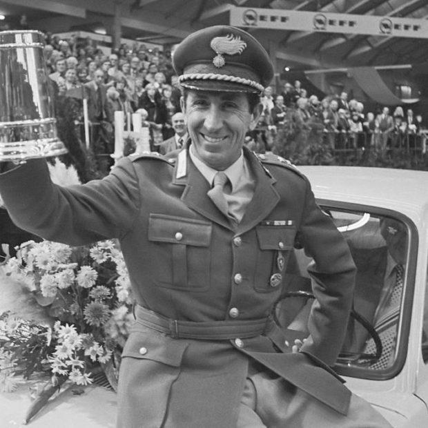 Raimondo D'Inzeo, campione del mondo di equitazione nel 1960