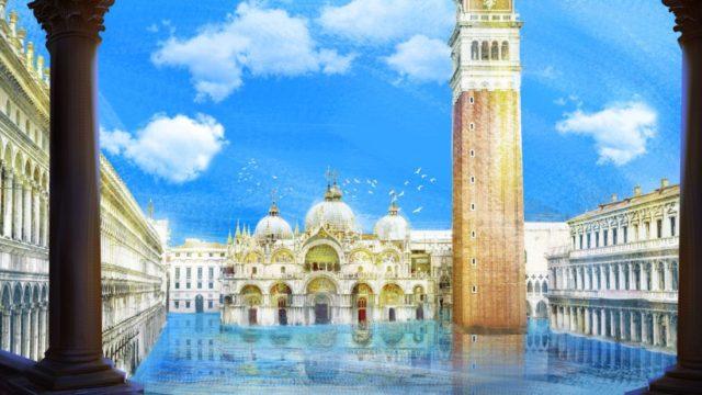 """Venezia, Piazza San Marco, in """"Dark Renaissance"""""""