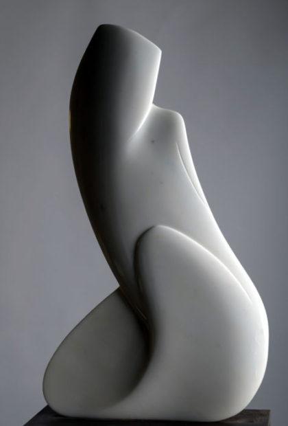 una scultura di Giancarlo Franco Tramontin