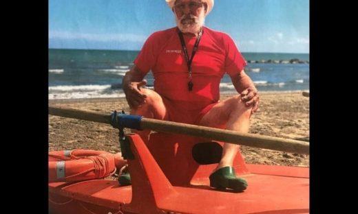 Pippo Garbisa: è al Lido l'highlander dei bagnini d'Europa