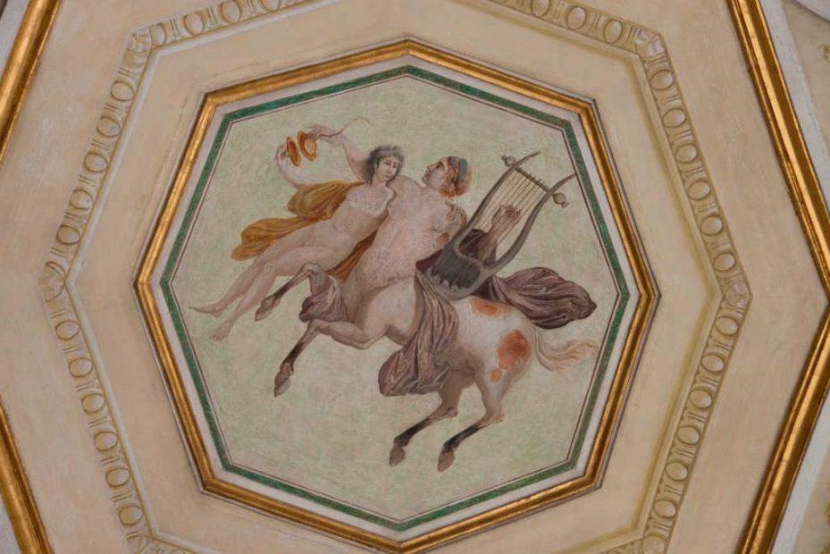Palazzo reale_Museo Correr, stanza della toilette con decorazione che raffigura la Dea protettrice delle Arti