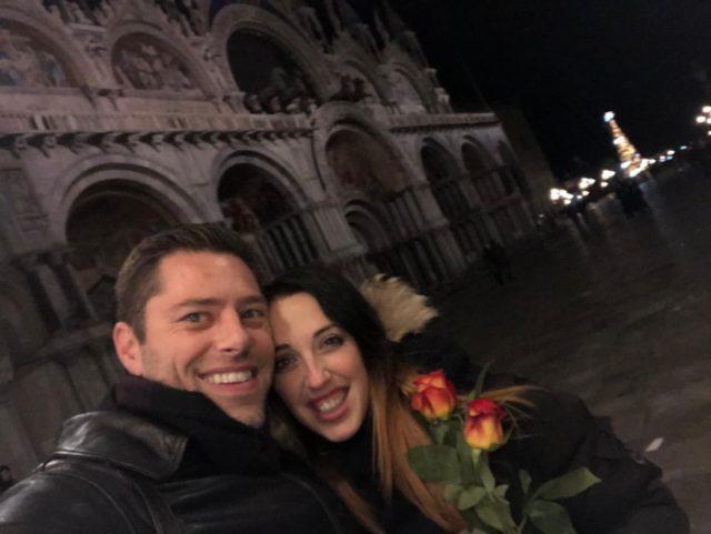 Jessica Braga e il fidanzato americano Christopher