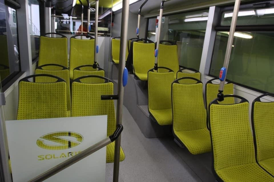 autobus elettrico interno