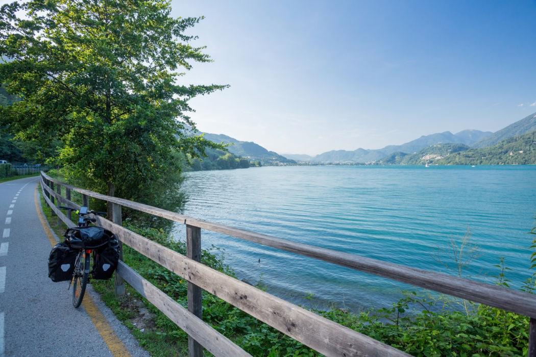 Via Claudia Augusta, lago Caldonazzo