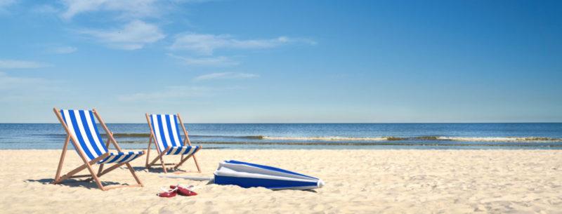 Spiaggia vacanze estive