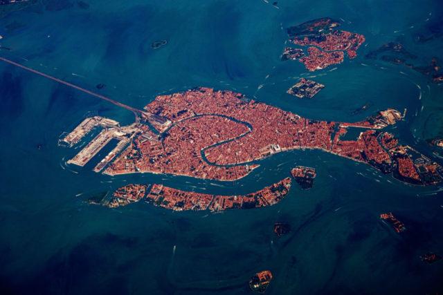 Venezia vista aerea