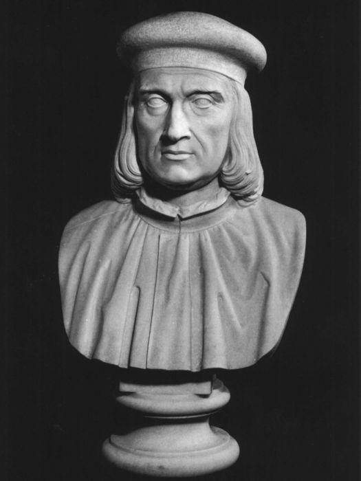 Busto raffigurante Aldo Manunzio