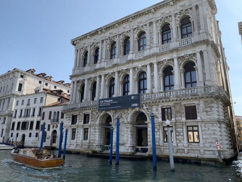 Ca' Pesaro riparte dalla Laguna di Moggioli
