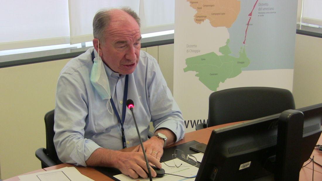 Il direttore dell'Azienda Sanitaria Ulss 3 Serenissima, Giuseppe Dal Ben