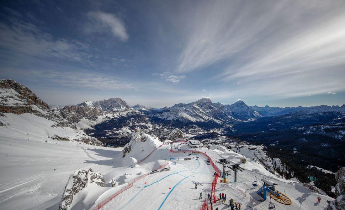 Venezia e Verona all'inaugurazione dei Mondiali di sci 2021 di Cortina