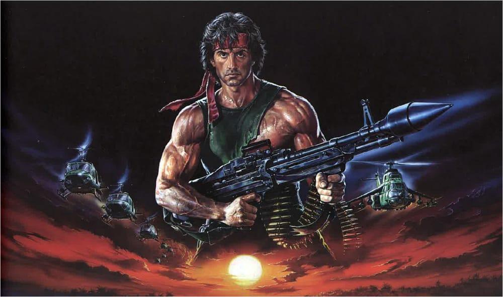 Renato Casaro, Rambo 2- La vendetta