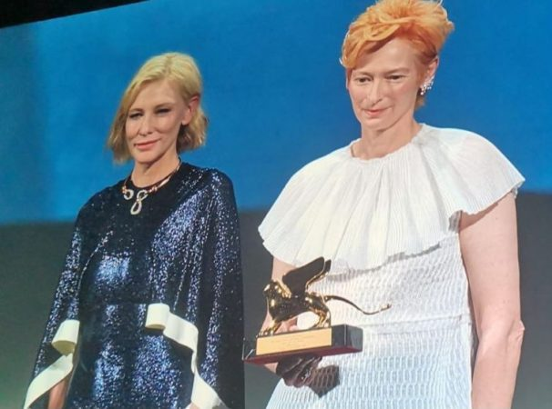 Da sx : Cate Blanchett e Tilda Swinton