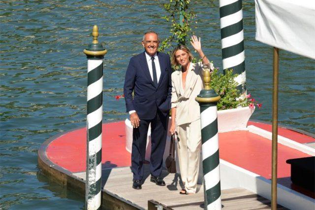 Anna Foglietta e Alberto Barbera