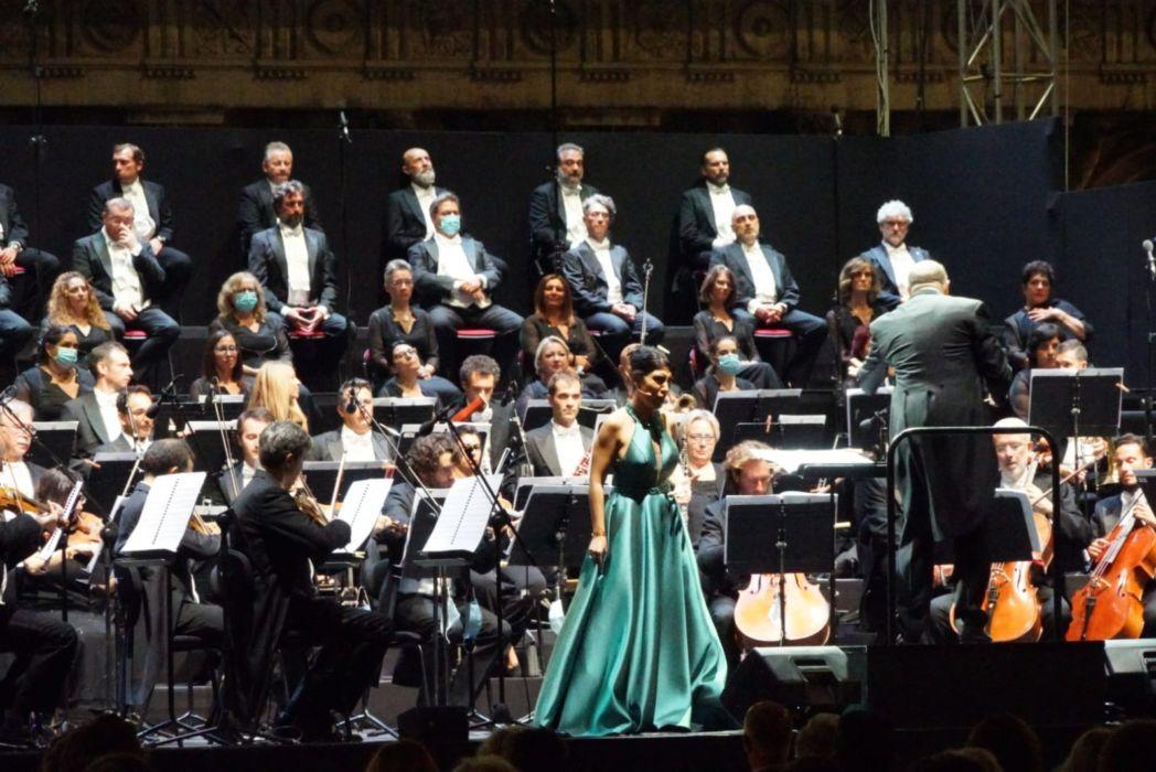 La soprano Claudia Pavone