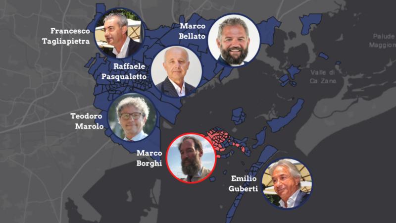 municipalità e presidenti