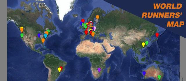 Mappa partecipanti Venicemarathon