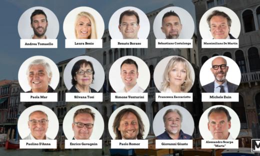Comune di Venezia: ecco chi governerà nei prossimi 5 anni. La Giunta