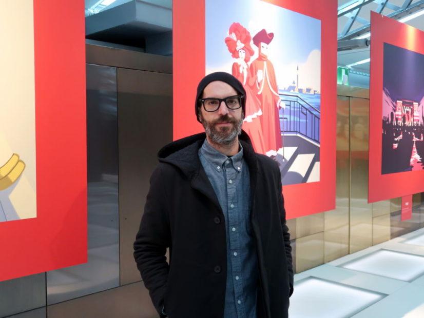 Emiliano Ponzi, l'illustratore che ha realizzato le decadi di Select