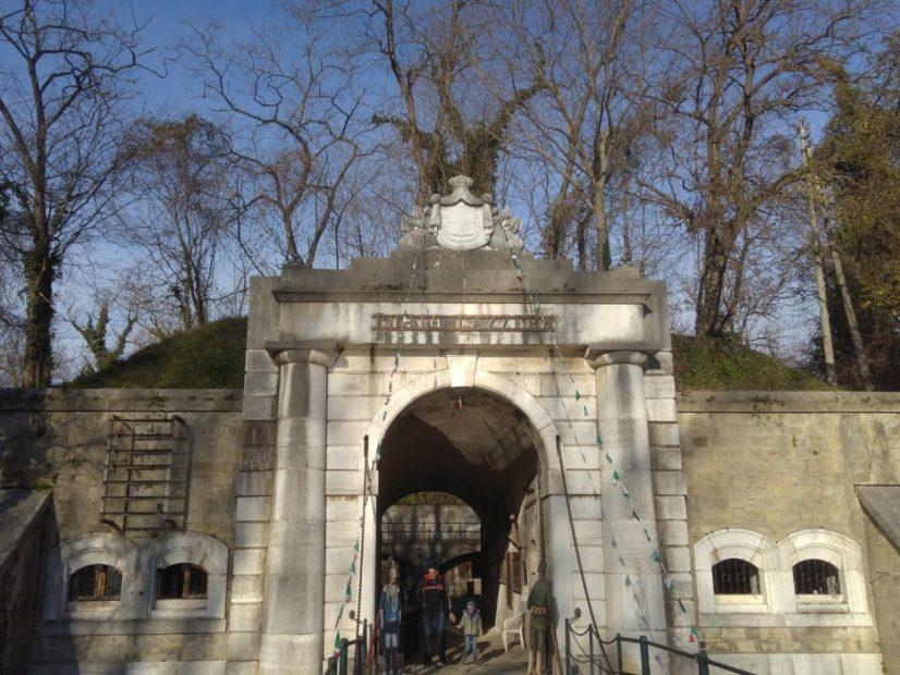 Forte Gazzera mura di Venezia