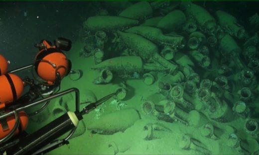 Tesori sommersi: la storia a centinaia di metri sotto il mare