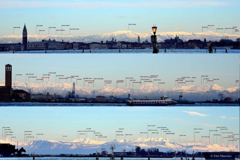"""Venezia e le Dolomiti: il fenomeno dello """"stravedamento"""""""