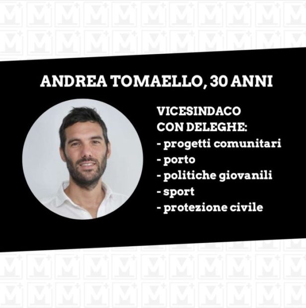 vicesindaco Andrea Tomaello