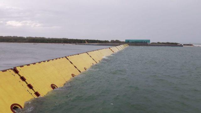 barriere Mose a Malamocco