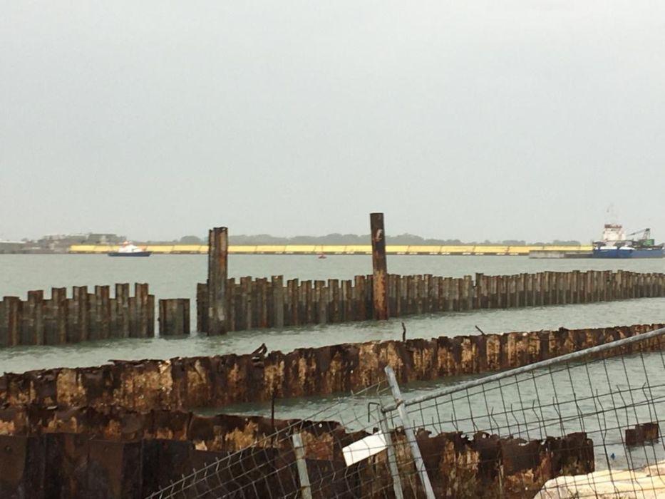 la barriera vista dagli Alberoni