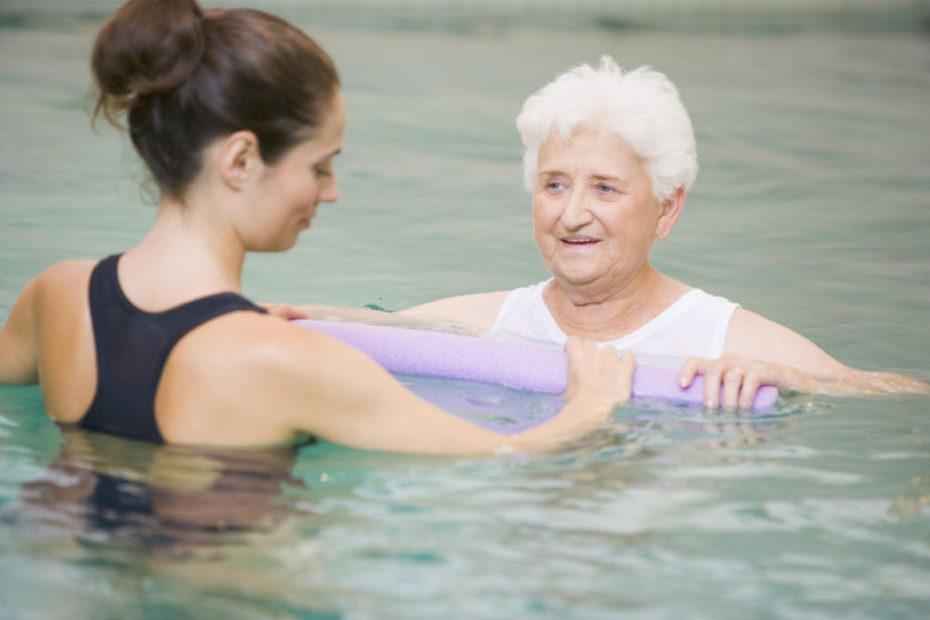 Fisioterapia in piscina